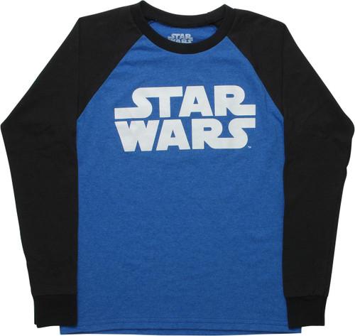 Star Wars Name Raglan Long Sleeve Juniors T-Shirt