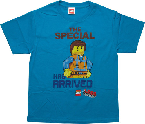Lego Movie The Special Has Arrived Youth T-Shirt