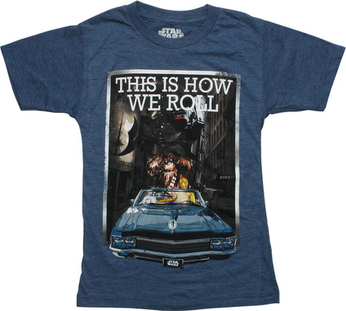 Star Wars This is How We Roll Juvenile T-Shirt
