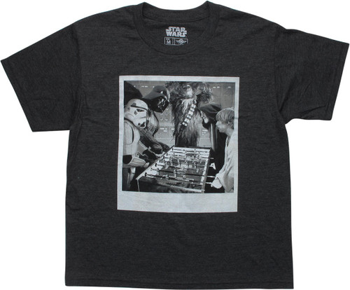 Star Wars Foosball Youth T-Shirt