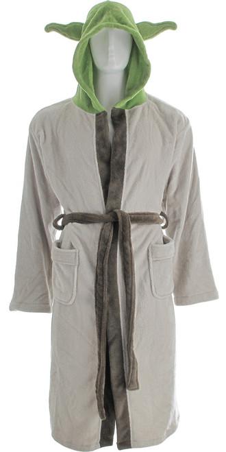 Star Wars Yoda Hooded Fleece Robe
