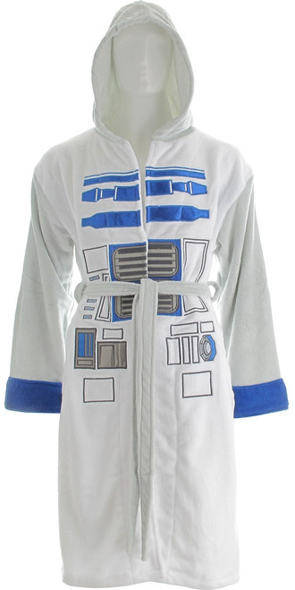 Star Wars R2-D2 Hooded Fleece Robe