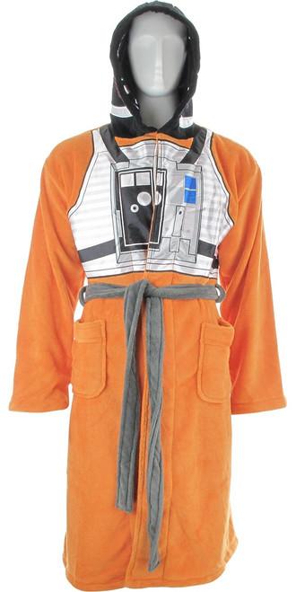 Star Wars X-wing Pilot Hooded Fleece Robe