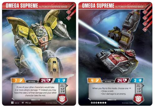 Transformers Autobot Omega Supreme Giant TCG Card