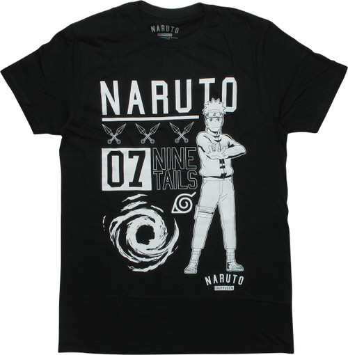 Naruto Shippuden 07 Nine Tails T-Shirt