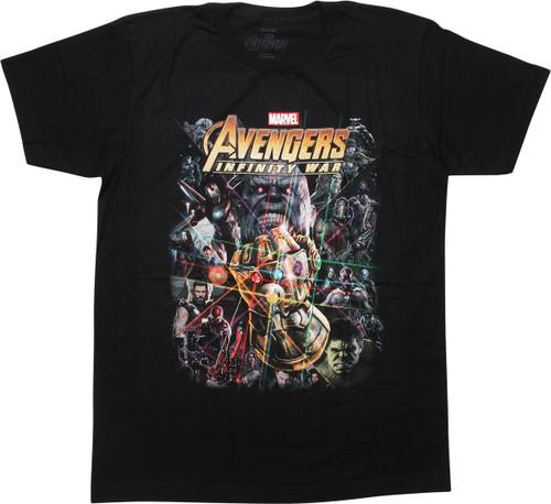 Avengers Infinity War Inspired Poster T-Shirt
