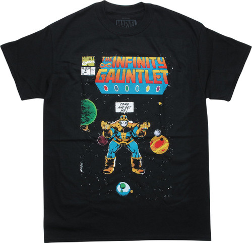 Marvel Infinity Gauntlet #4 Comic Cover T-Shirt