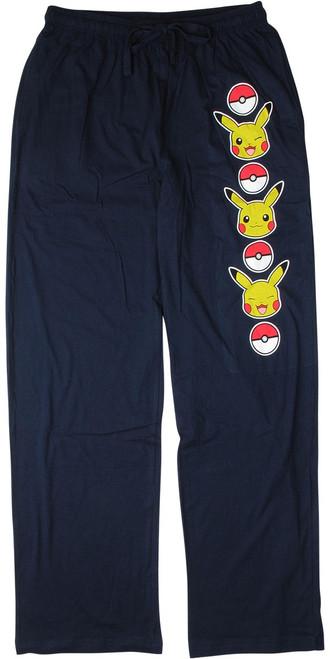 Pokemon Pikachu Poke Ball Lounge Pants