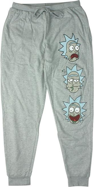 Rick and Morty Faces Womens Jogger Pants