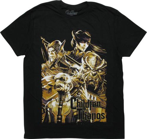Avengers Infinity War Children Thanos T-Shirt