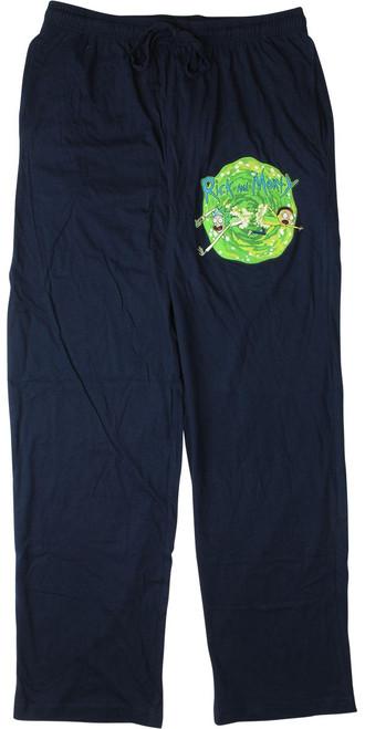 Rick and Morty Portal Lounge Pants
