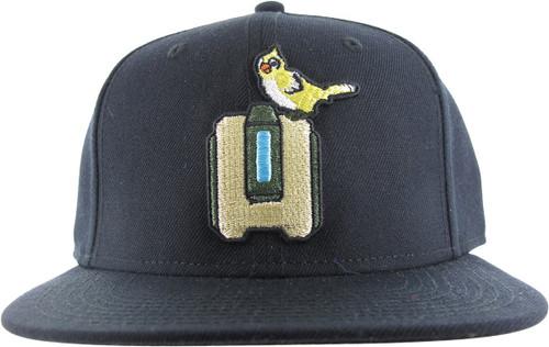 Overwatch Bastion Ganymede Black Snapback Hat