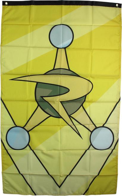Rick and Morty Council of Ricks Badge Banner Flag