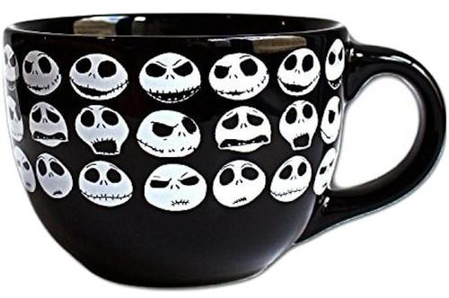 Nightmare Before Christmas Jack Faces Soup Mug