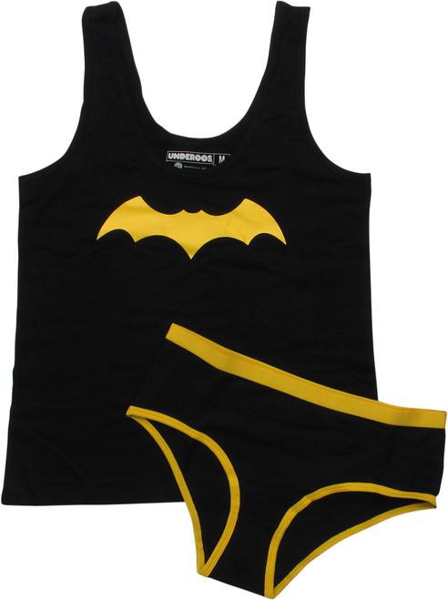 Batgirl Symbol Underoos Juniors Pajama Set