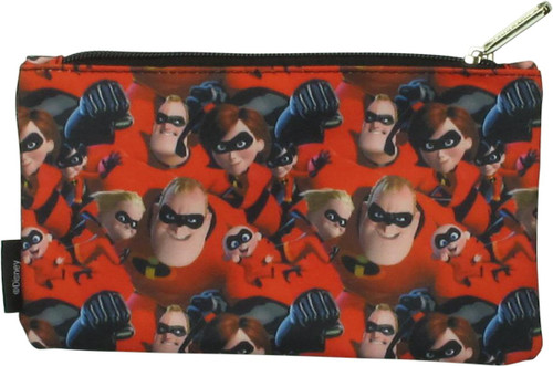 Incredibles Group Collage Pencil Case