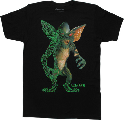 Gremlins Stripe 3D Model T-Shirt