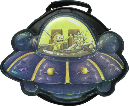 Rick and Morty Spaceship Lunch Bag