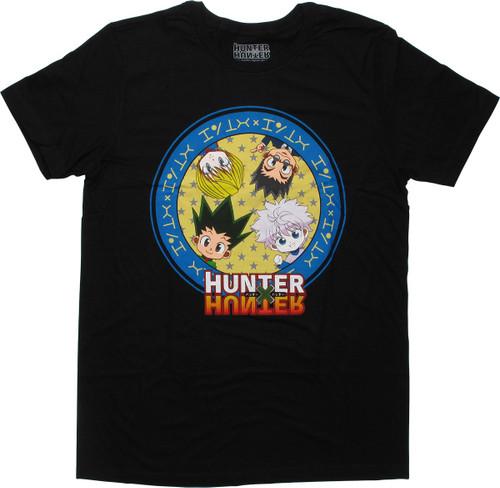 Hunter x Hunter SD Group Circle T-Shirt