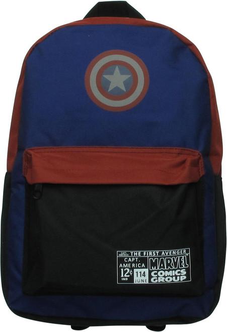 Captain America Shield First Avenger Backpack