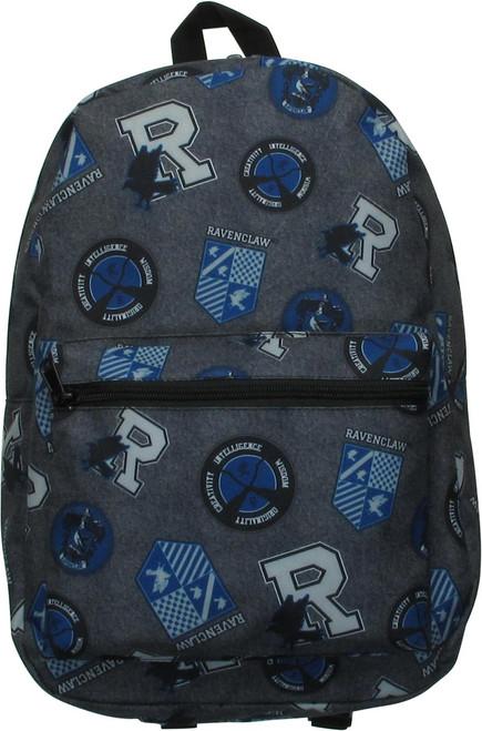 Harry Potter Ravenclaw All Over Symbols Backpack