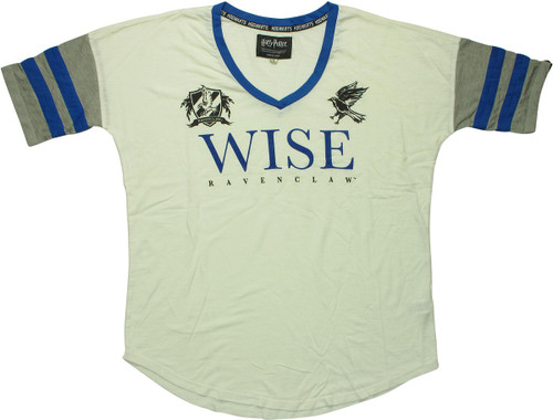 Harry Potter Ravenclaw Wise V Neck Juniors T-Shirt
