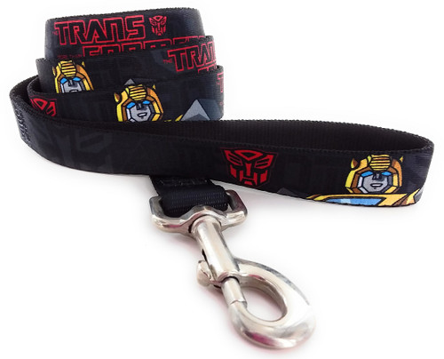 Transformers Autobot Bumblebee Wrap 4 Ft Pet Leash