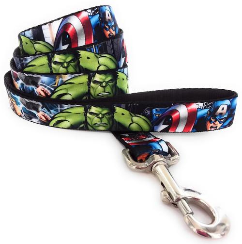 Avengers Superheroes Wrap 4 Foot Pet Leash