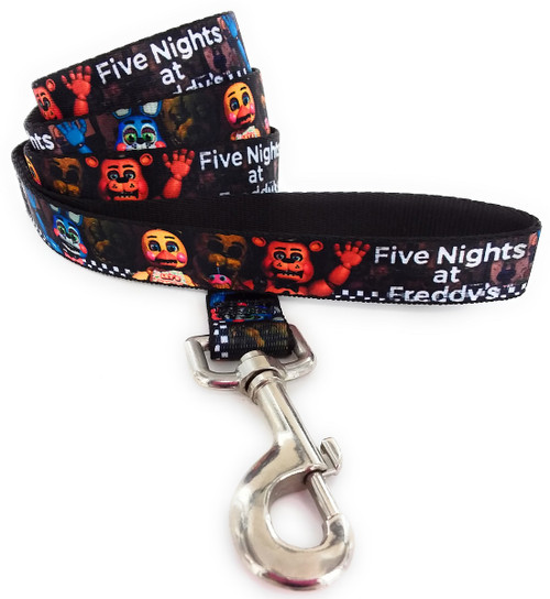 Five Nights at Freddy's Cast Wrap 4 Foot Pet Leash