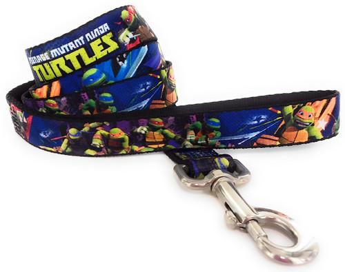 Ninja Turtles Heroes Wrap 4 Foot Pet Leash
