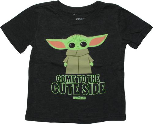 Star Wars Mandalorian Grogu Cute Toddler T-Shirt