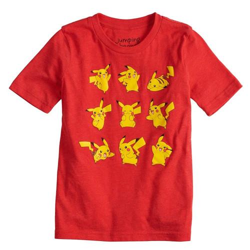 Pokemon Pikachu Poses Youth T-Shirt