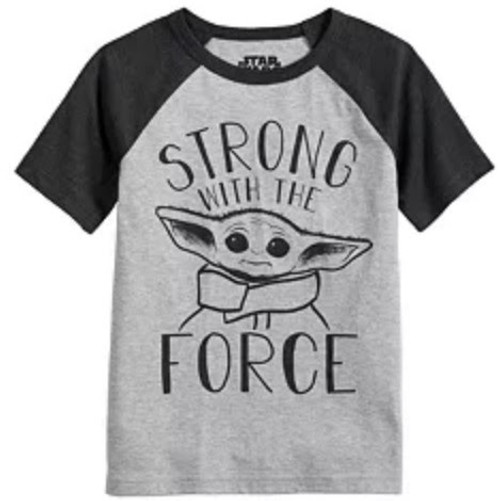 Star Wars Grogru Strong With Force Youth T-Shirt