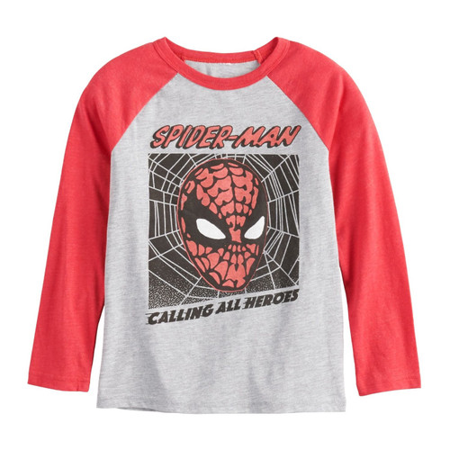 Spiderman Calling All Heros Youth T-Shirt