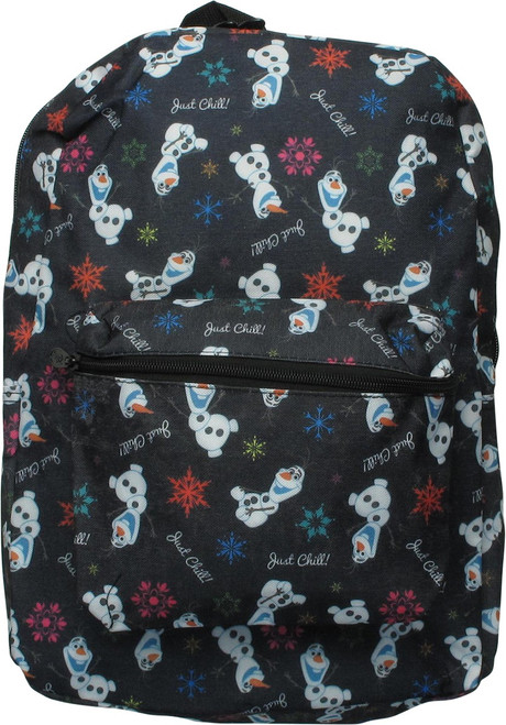 Frozen Olaf Just Chill All Over Print Backpack