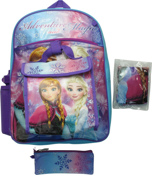 Frozen Adventure Magic 5 Piece Backpack Set