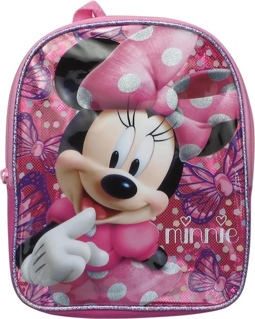Minnie Mouse Butterflies Glitter Mini Backpack