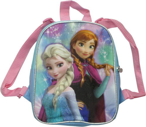 Frozen Anna and Elsa 2 Sided Mini Backpack