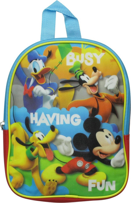 Mickey Mouse and Friends Having Fun Mini Backpack