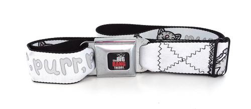 Big Bang Theory Soft Kitty Purr Wrap Seatbelt Belt
