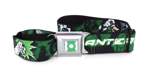 Green Lantern Hal Jordan Wrap Seatbelt Belt
