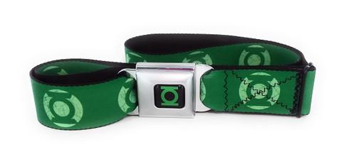 Green Lantern Logo Wrap Seatbelt Belt