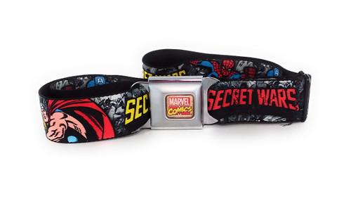 Avengers Secret Wars Wrap Seatbelt Belt