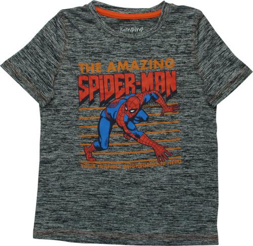 Spiderman Neighborhood Ath Youth T-Shirt