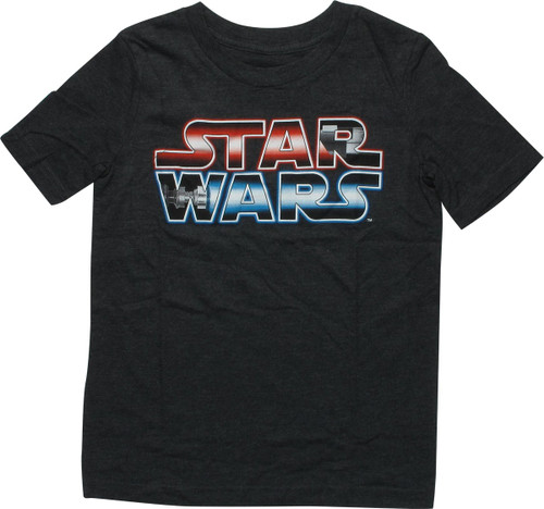 Star Wars Title Saber Gradient Youth T-Shirt