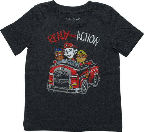 Paw Patrol Ready For Action Toddler T-Shirt