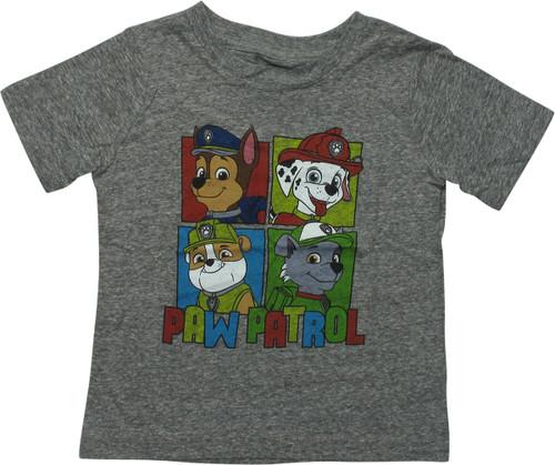 Paw Patrol Career Squares Toddler T-Shirt