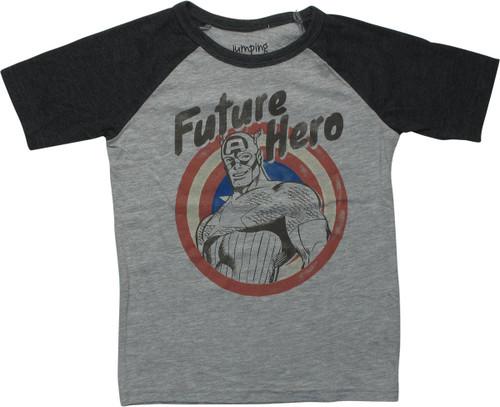 Captain America Future Hero Youth T-Shirt