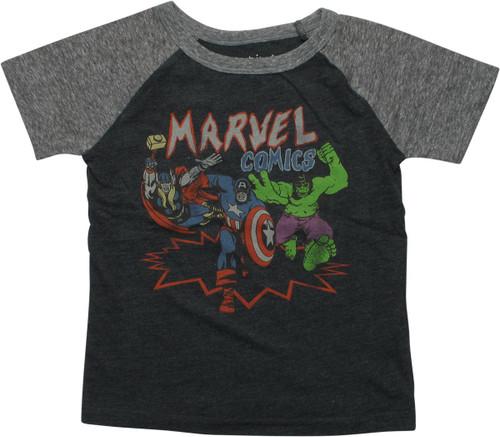 Avengers Marvel Comics Heros Toddler T-Shirt