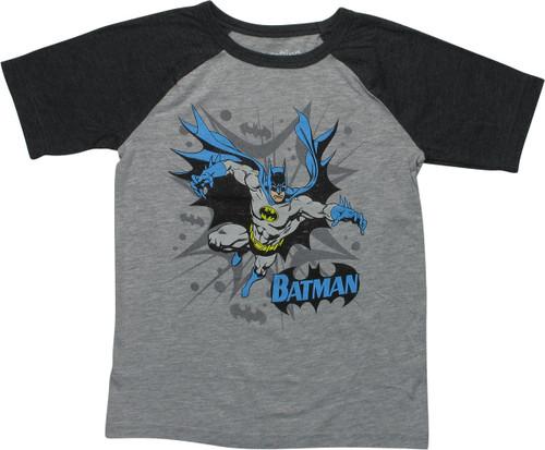 Batman Classic Forward Leap Youth T-Shirt